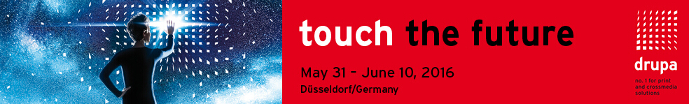 We will attend Drupa 2016 in Germany