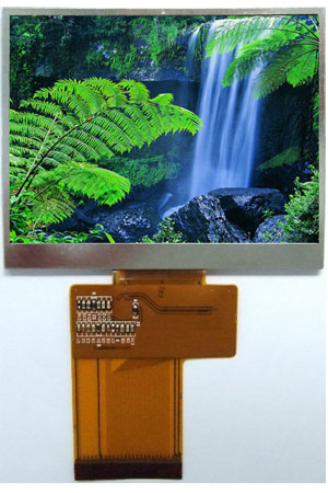 3.5 InchTFT Display with Resistive Touch panel: ATM0350D2-T