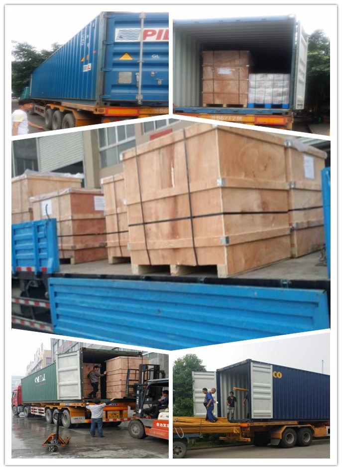 delivery goods by container