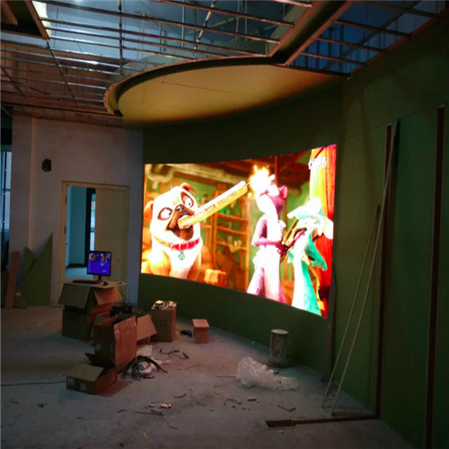 P4 Indoor curve led display screen