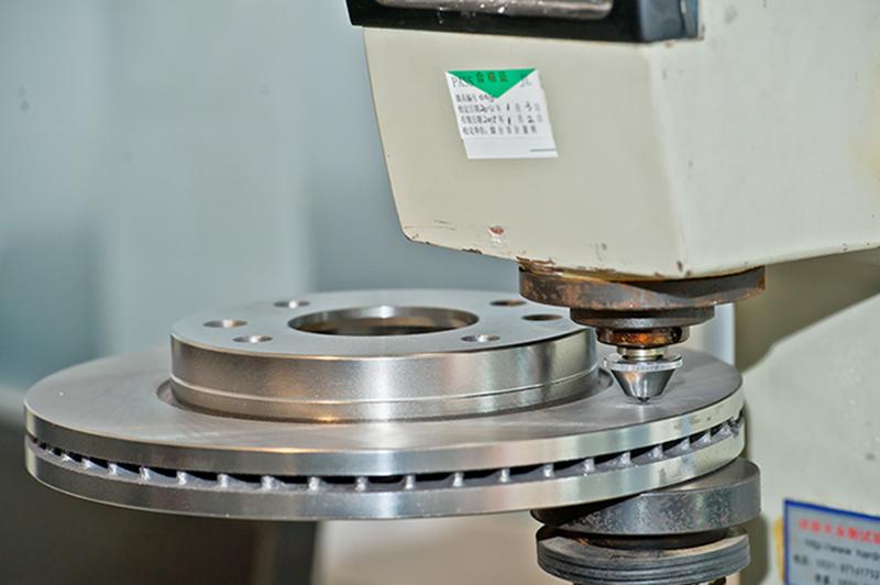Hardness Inspection for Brake Disc