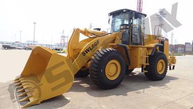 SWL60G wheel loader to Ghana
