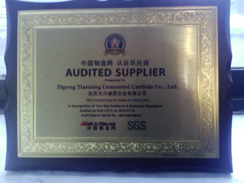 Golden supplier from SGS in made in China