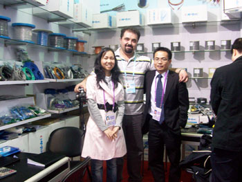 2010Hong Kong Electronics Fair(Spring Edition)Booth Number:5BE44