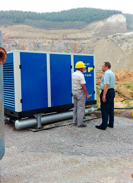 Dong'e Mine Using High Pressure Air Compressor