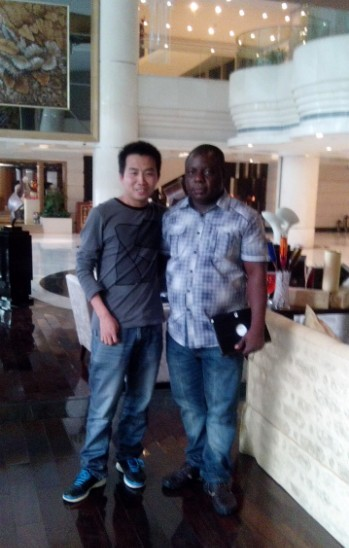 Mozambique client and our manager