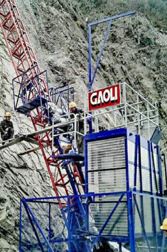 Project of Vietnam Mining Lean Construction Hoist
