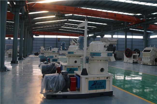 workshop of HMBT for pellet making machine