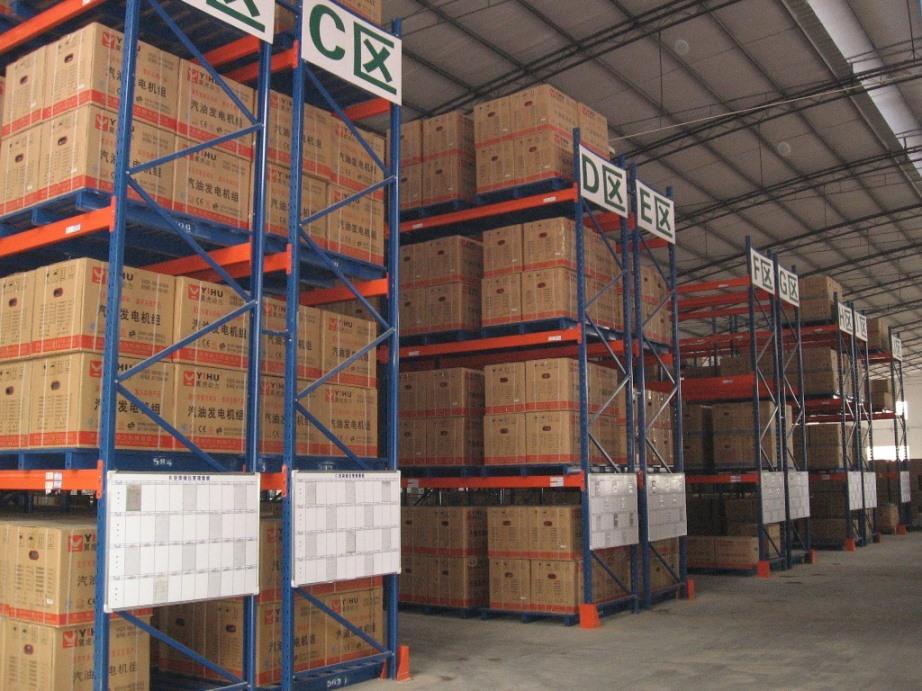 Well organized warehouse