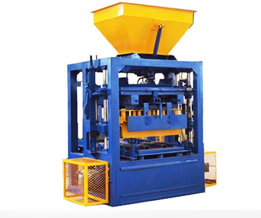 QT 4-26 Small Manual Cement Brick Making Machine Suppliers