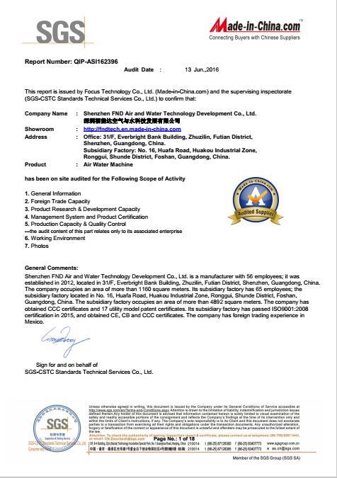 FND SGS report