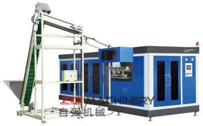 ZQ Brings the New Generation 5L High Speed Blow Molding Machine (4 Cavity)