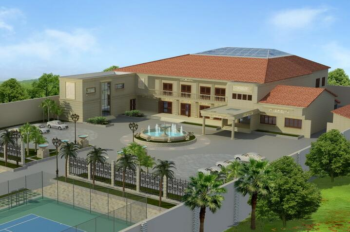 Project Name: A High-end Villa Location: Benin