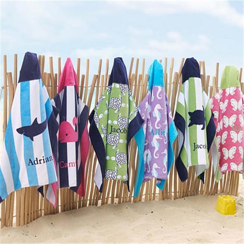 kid's beach poncho