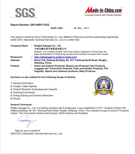 SGS report