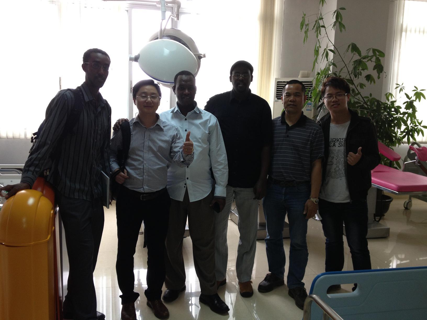 Africa customer visit