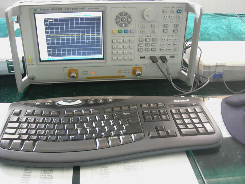 Test equipment-Network Analyzer
