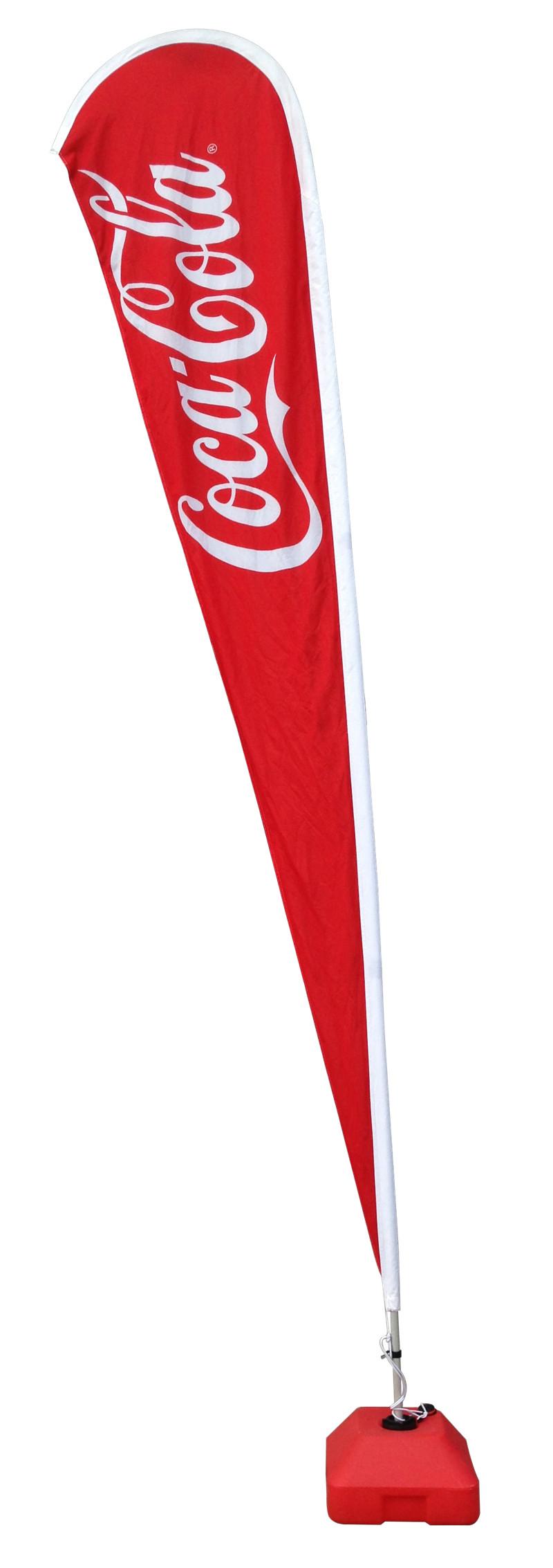 4.8m Stand Flag Promotional Flag Flying Flag