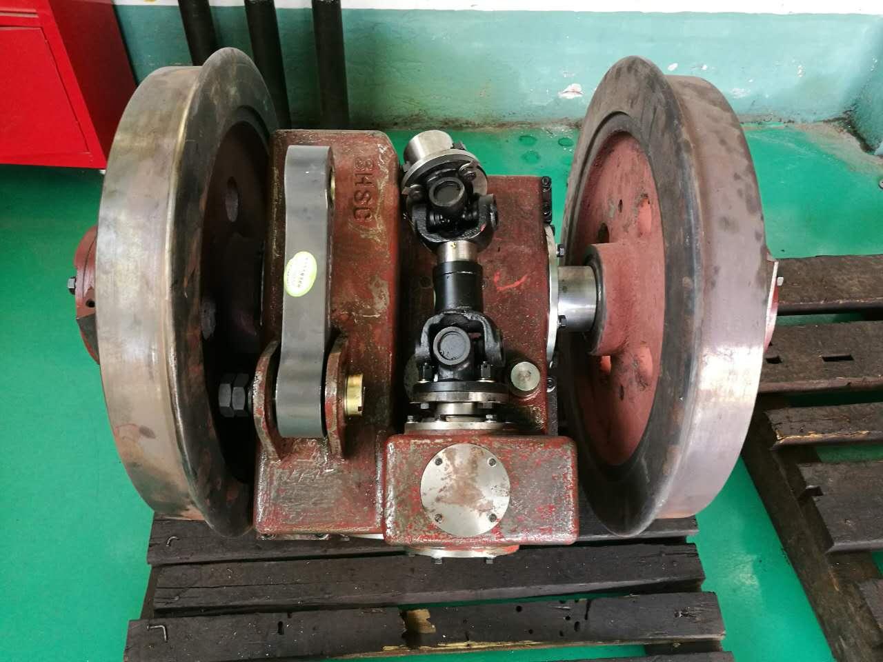 Mine motor gearbox