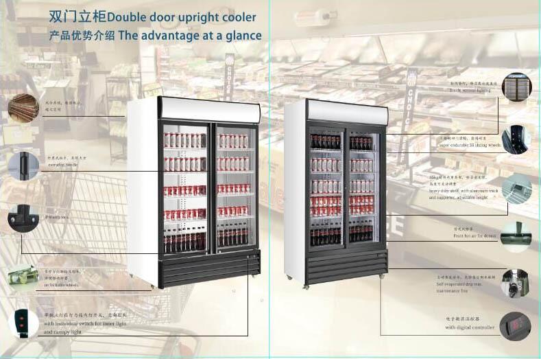 Apex Two Door Upgith Cooler