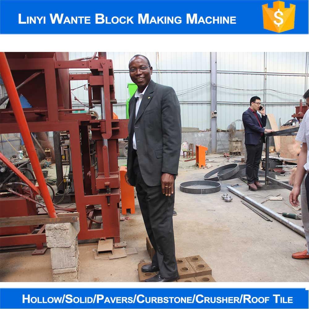 Nigeria customer testing block strength