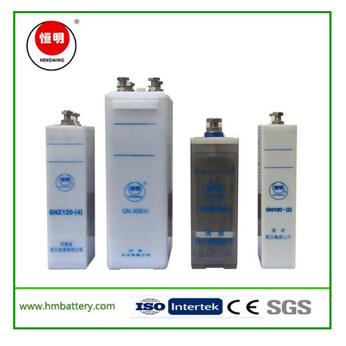 Gnc,Gng,Gnz,Gn Series Nickel Cadmium Battery with Battery Rack for Substation, Series Nickel Cadmium