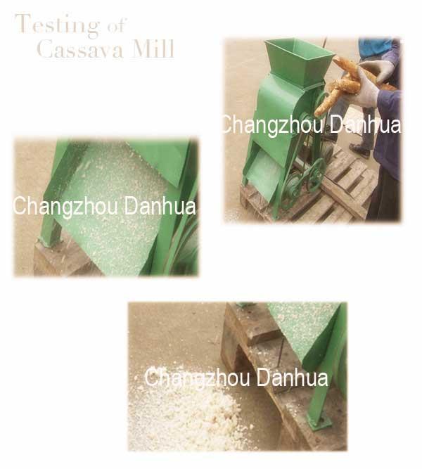 Test of Cassava Mill