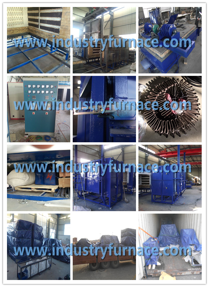 Resistance heat treatment furnace delivery to Russia