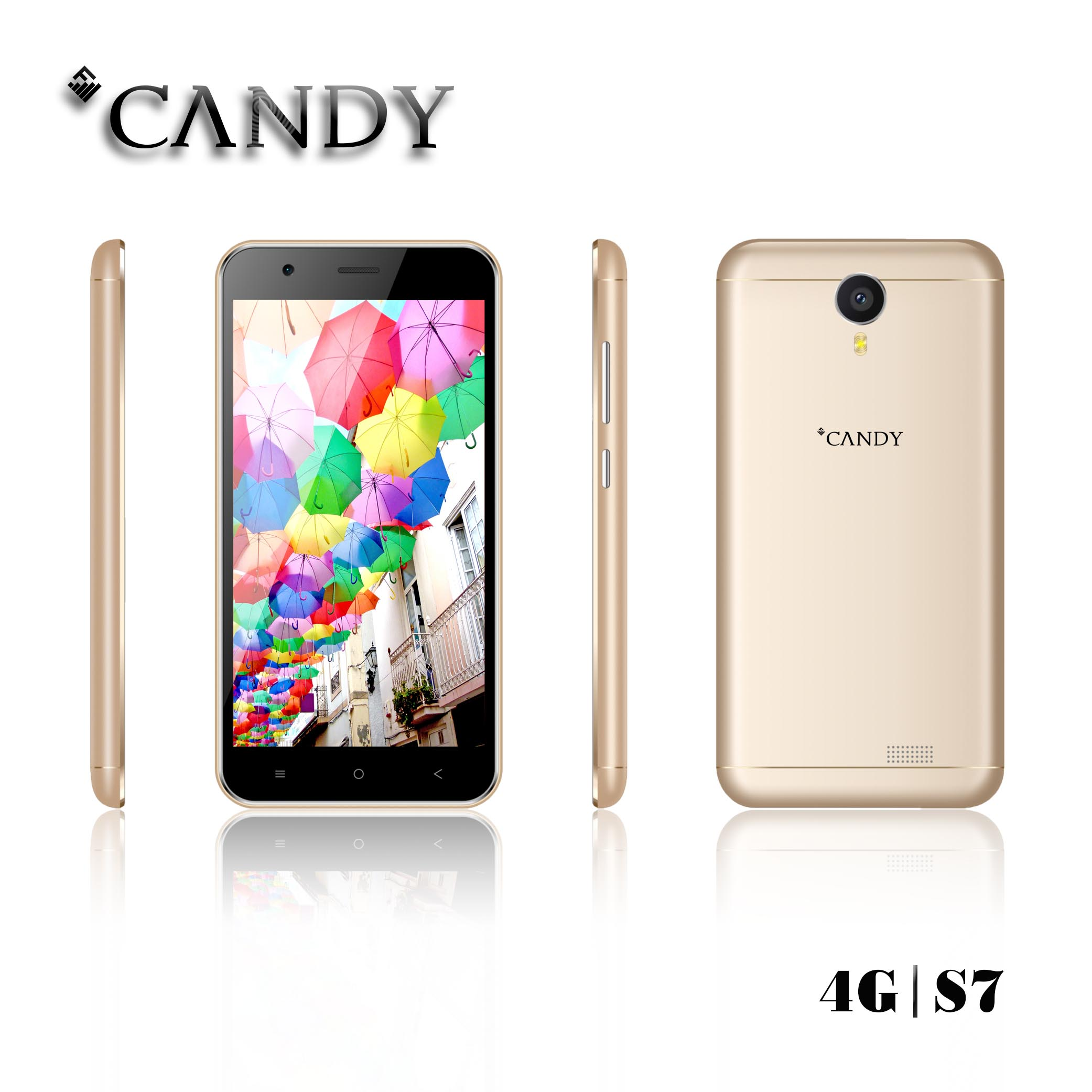 5Inch Fashional Mobile Phone QHD 4G Smart Phone