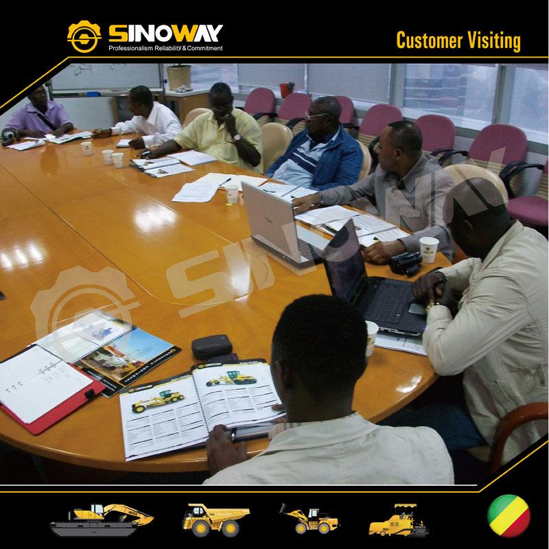 Congo clients visit Sinoway