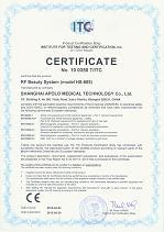 RF Slimming Machine CE Medical Certificate