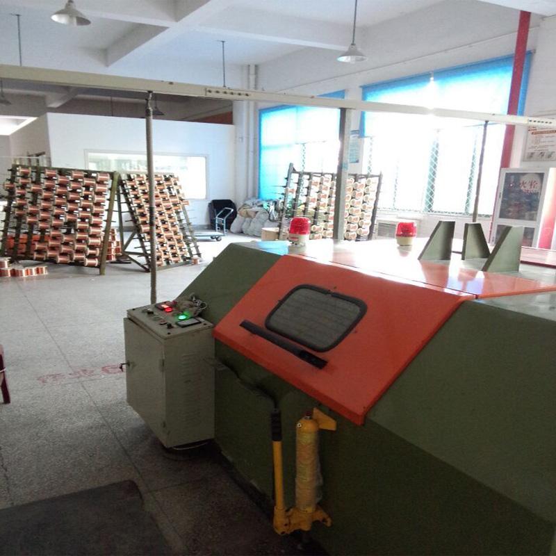 Power line production workshop Cabling machine