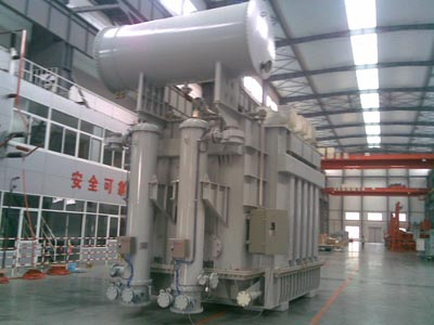 Electric arc furnace transformer solution for metallurgical power distribution