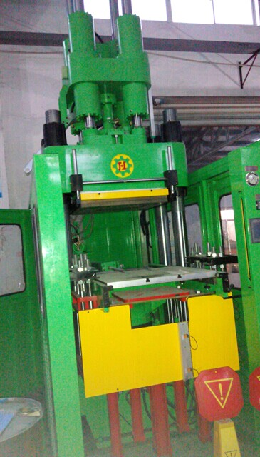rubber producing machine