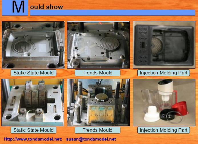 Mould for plastic parts