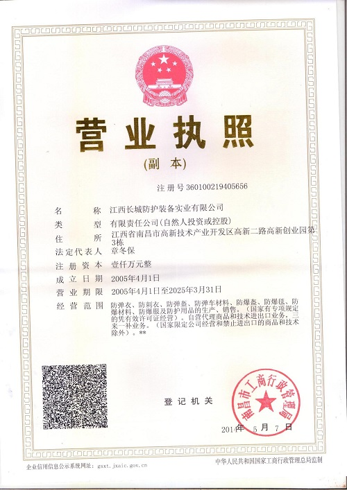 Operation License