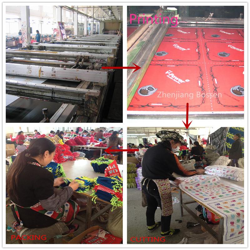 Bandana/Handkerchief production process