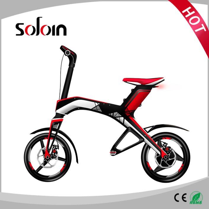Fashion 300W Folding Mobility City Balancing Electric Bicycle