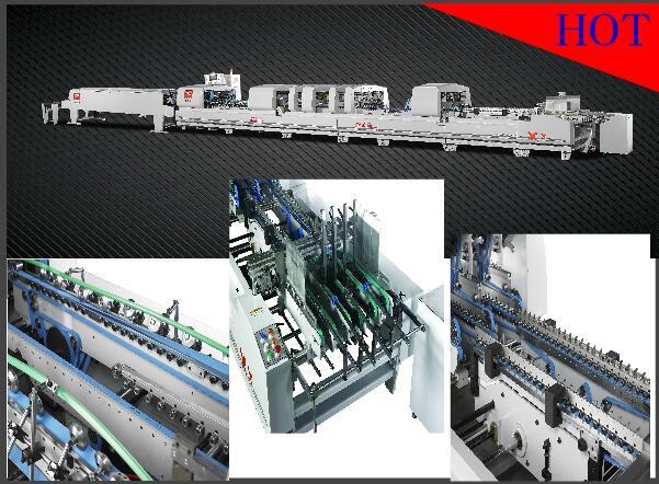 XCS-1100FCN automatic multifunctional high-speed carton folder gluer