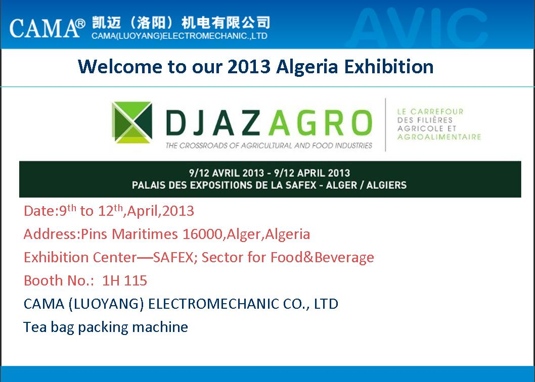 2013 Algeria exhibition