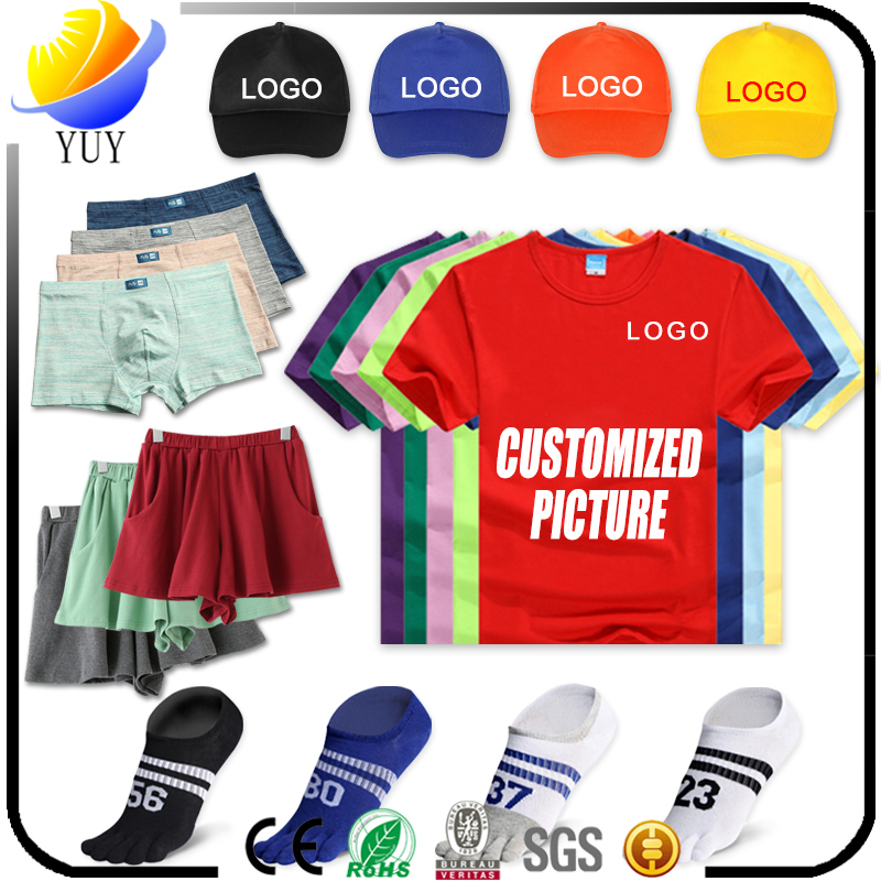 Customized T-Shirt, Cap and Sock With Casual Short Skirt And Underwear