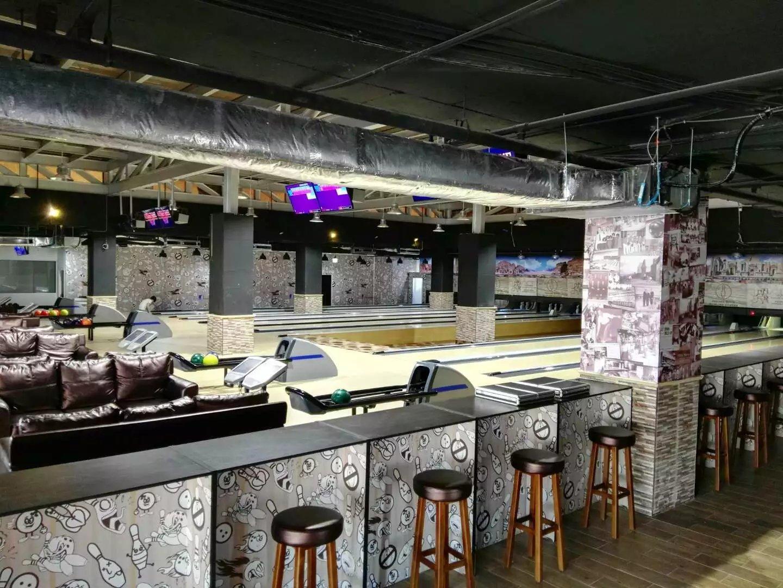 We built up a 10 lanes bowling center in Amman, Jordan