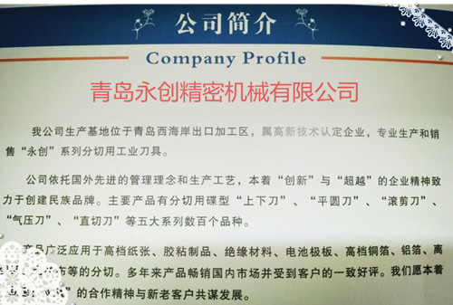 My company profile