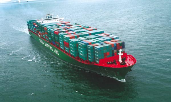 Shipping services to South America