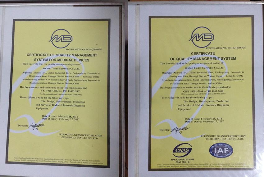 TIANYI ISO9001&ISO13485
