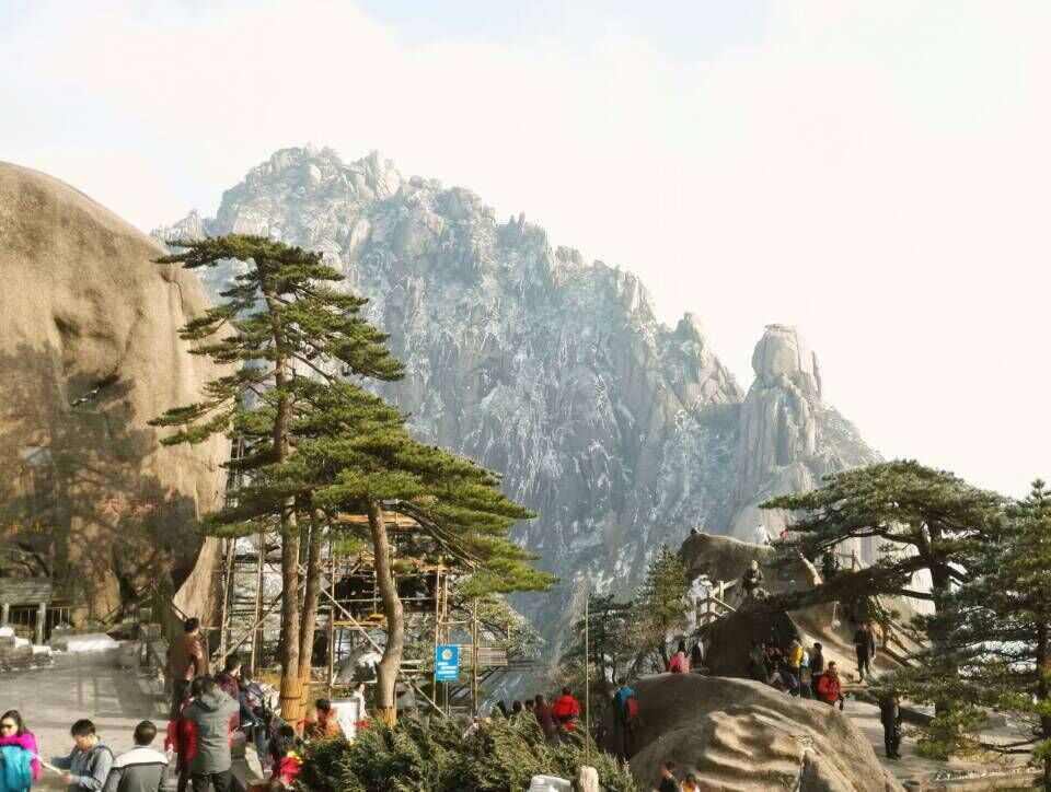 The wonderful mountains-HuangShan Traveling