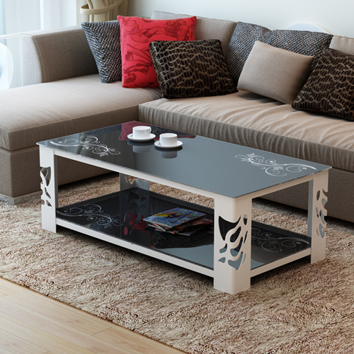 Noble End Table Glass