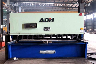 hydraulic shear machine for steel structuer products