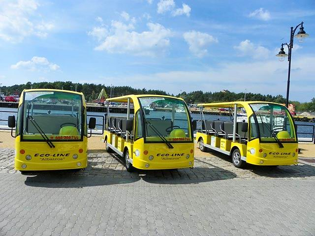 Marshell Sightseeing Bus in Poland