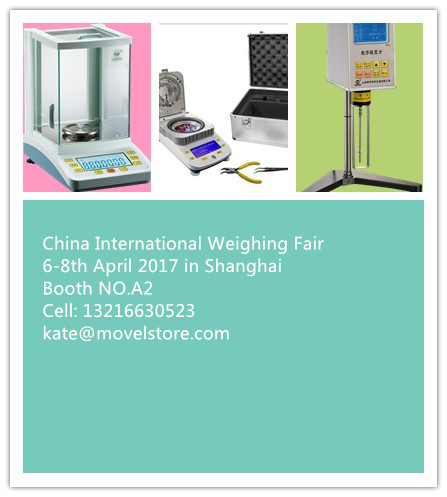 international weighing fair in shanghai 6-8th April